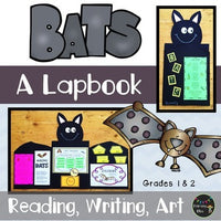 Bat Lapbook (For First And Second Grade) (Common Core Aligned)