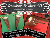 Christmas  Holiday Gift For Students An Adorable Reindeer That Can Fly