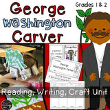 George Washington Carver : Reading Writing & Peanut Plant Hat Making