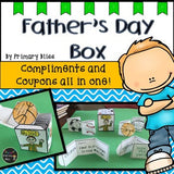 Father'S Day Craft Box With Compliments And Coupons All In One