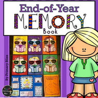 End Of Year Memory Lap Book