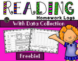 Reading Log With Data Collection