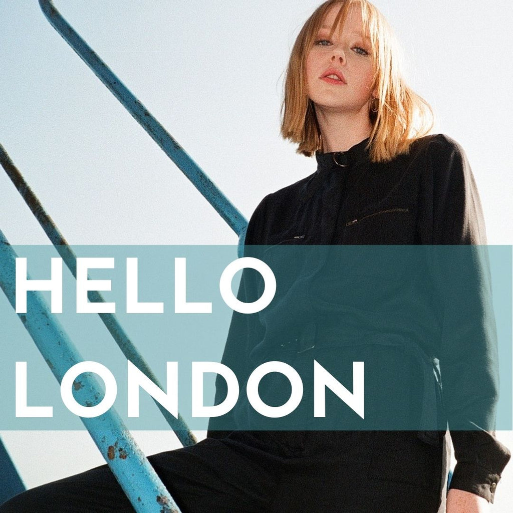 VILDNIS sustainable fashion pop up shop in London May 2021