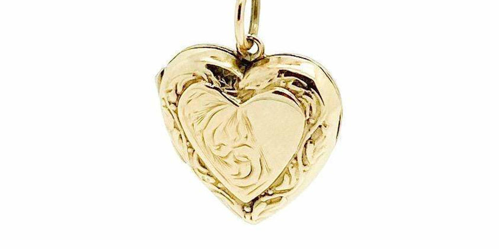 Ethical jewellery Mayveda gold vintage locket