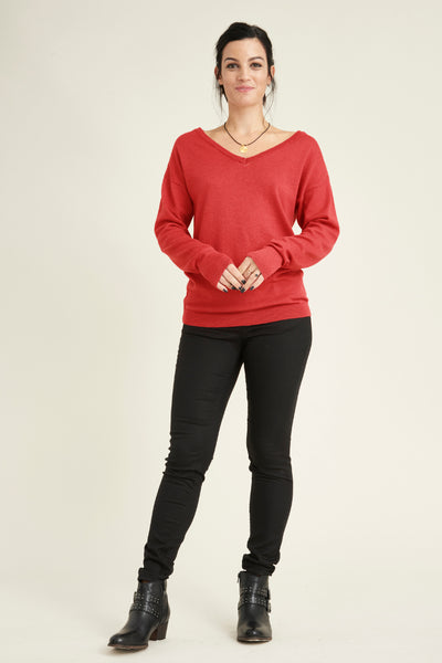 Jinhae Jumper made from 100% recycled merino