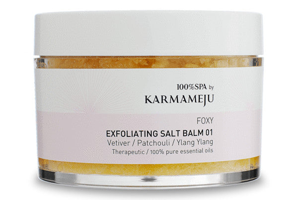 Foxy natural body scrub from Karmameju