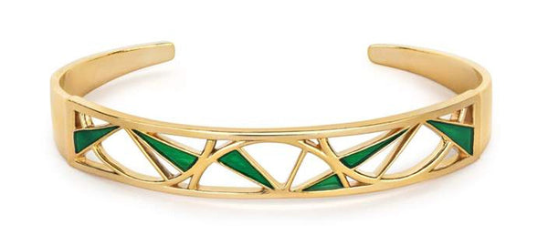 Art deco bangle from Little by Little