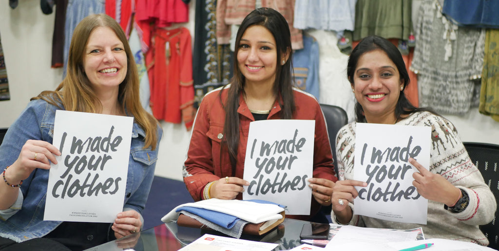 I made your clothes - VILDNIS ethical supplier in India