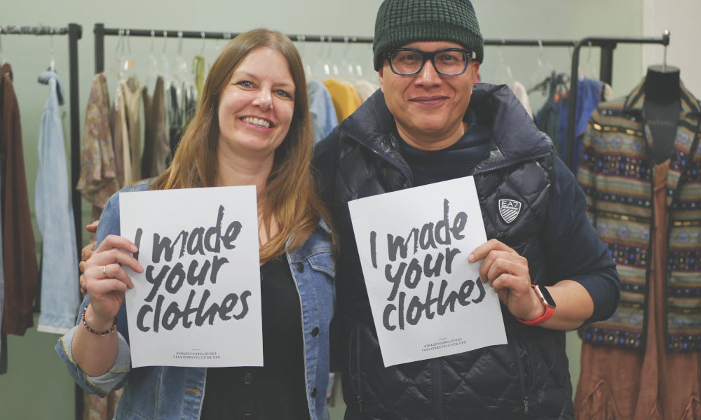 Fashion Revolution Week: We made your clothes - VILDNIS