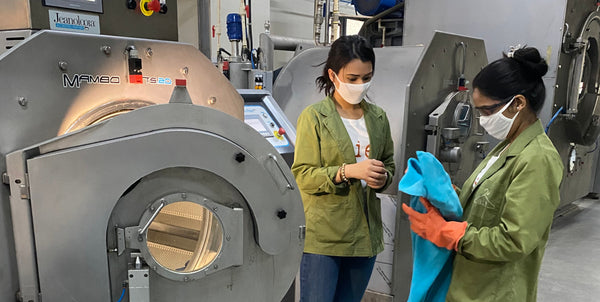 the woman behind our supplier's sustainable laundry - VILDNIS