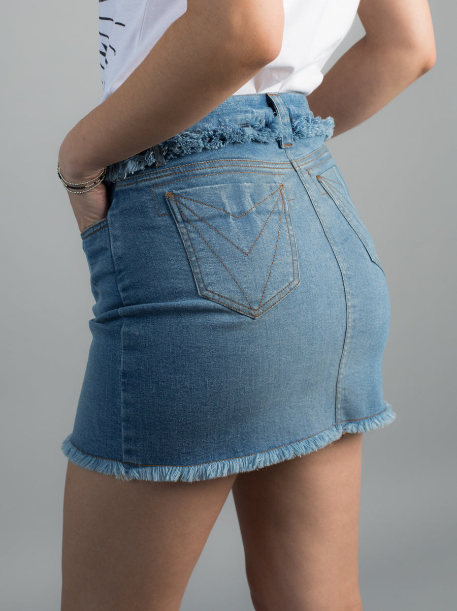 Havasu denim skirt - VILDNIS