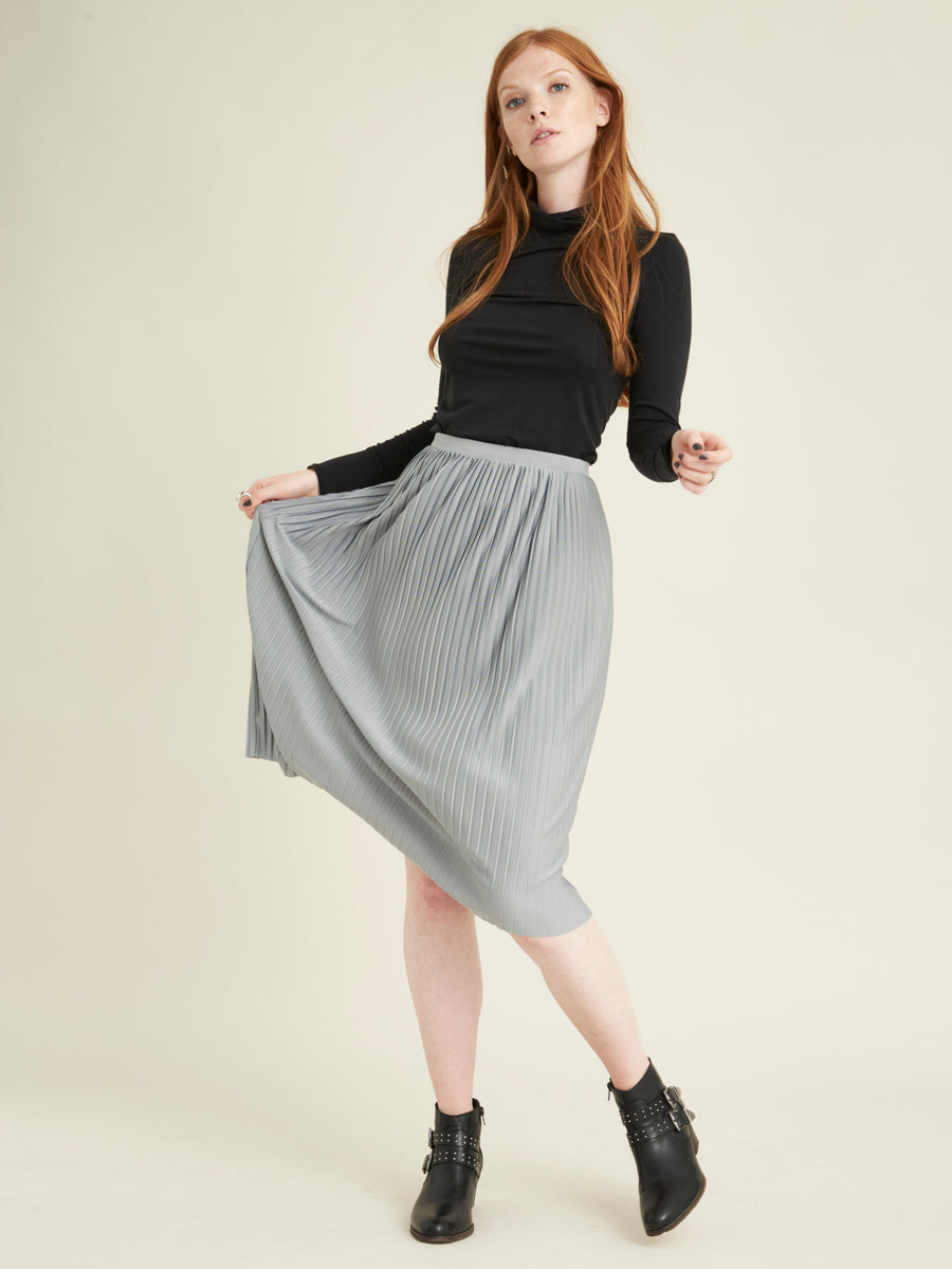 Ksamil pleated skirt - VILDNIS
