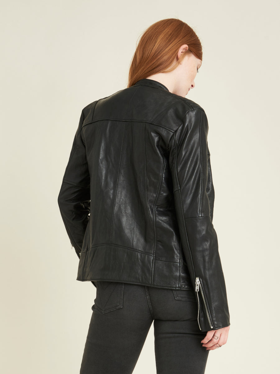 Nevada leather jacket - VILDNIS