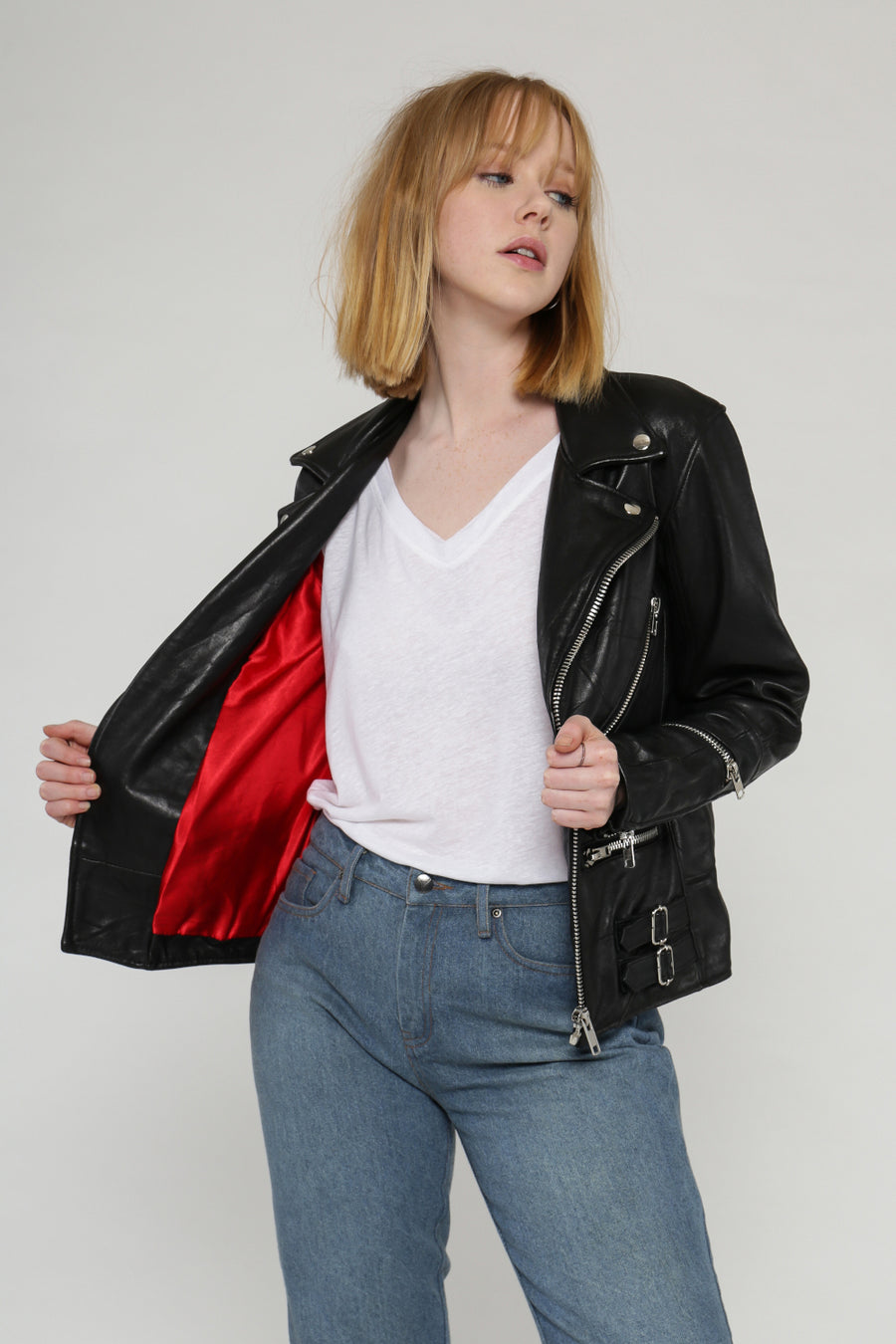 Vinnie leather jacket