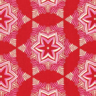Hello Love: Red Guru - Cotton Woven