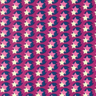 Hello Love: Violet Pop Star - Cotton Woven