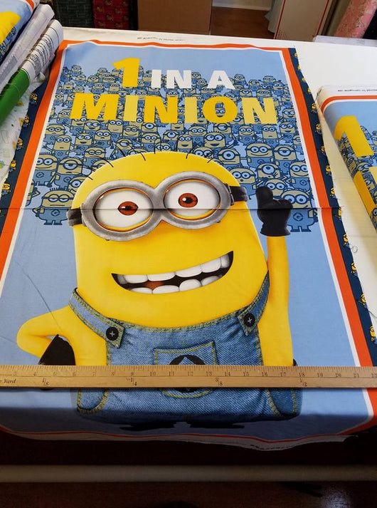 Project Panel- One in a Minion- Cotton Woven