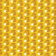 Hello Love: Yellow Pop Star - Cotton Woven