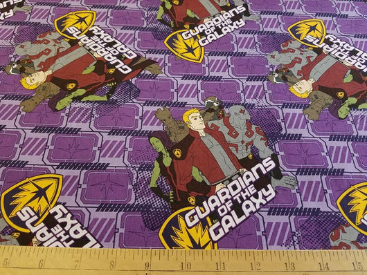 Guardians of the Galaxy Characters- Cotton Woven