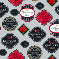Kentucky Derby Badges- Cotton Woven