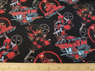 DeadPool: Characters- Cotton Woven