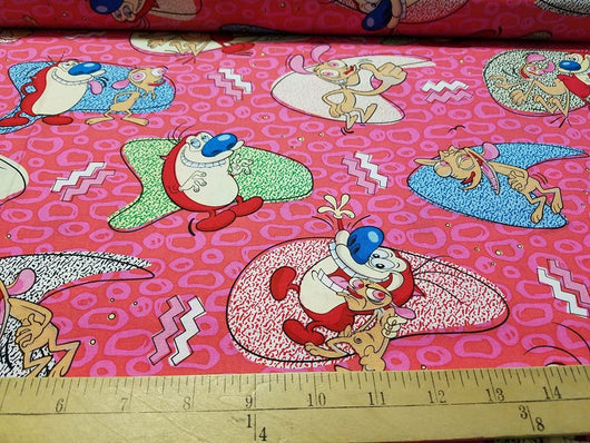 Ren and Stimpy: Cotton Woven