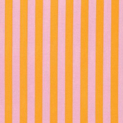 Tabby Road by Tula Pink:  Marmalade Tent Stripe- Cotton Woven