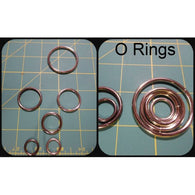 O Rings Purse Hardware