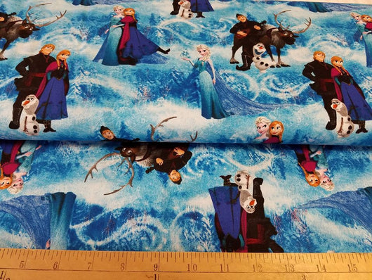 Disney Frozen: Scenic Adventure: Cotton Woven