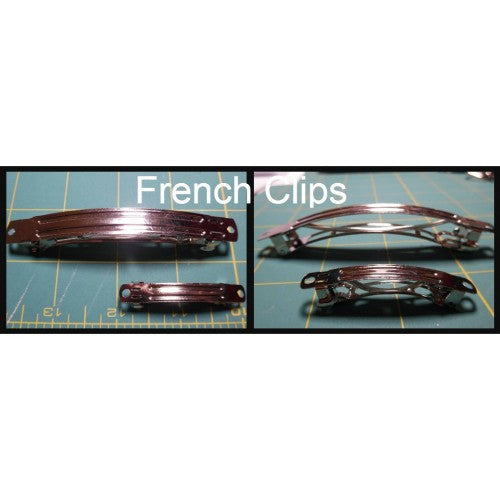 French Clip Barrette Hardware