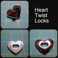 Heart Twist Lock Hardware