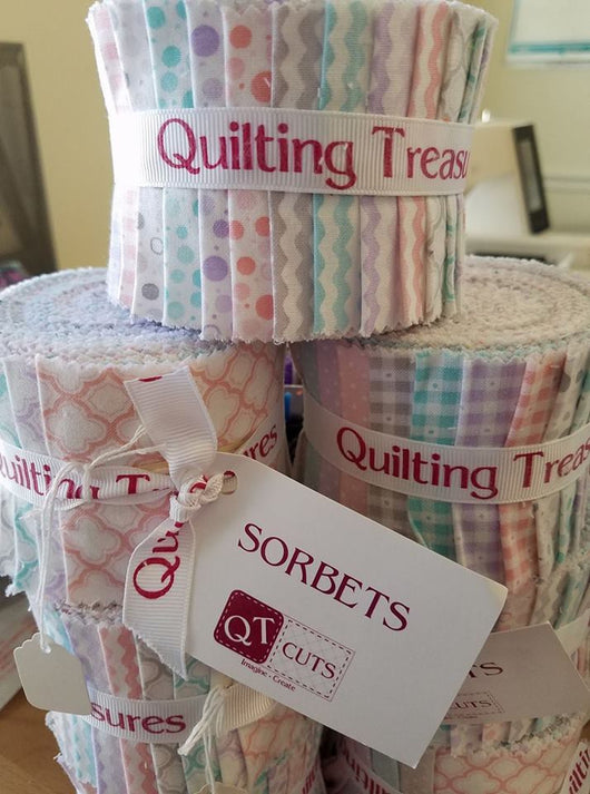 Jelly Roll: Cotton Candy- Quilting Treasures