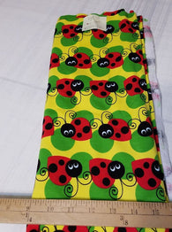 Remnant #1217-20: Cotton Interlock LadyBug 1y