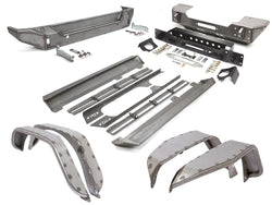 GenRight JK (4 DOOR) TRAIL ARMOR PACKAGE - STEEL