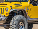 "GenRight JEEP JK 4"" FLARE FRONT TUBE FENDERS - ALUMINUM"