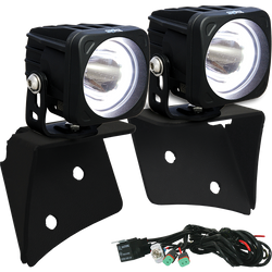 Vision X LED A-Pillar Light Mount with Lights