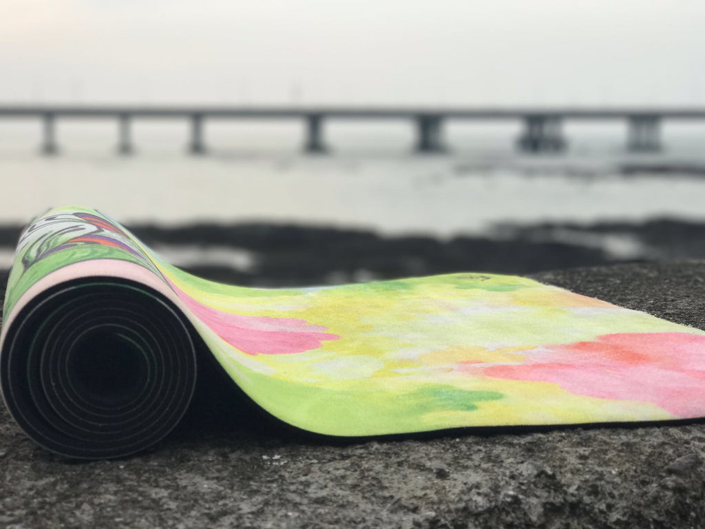 Spiritual Warrior Artist designed eco-friendly yoga mats