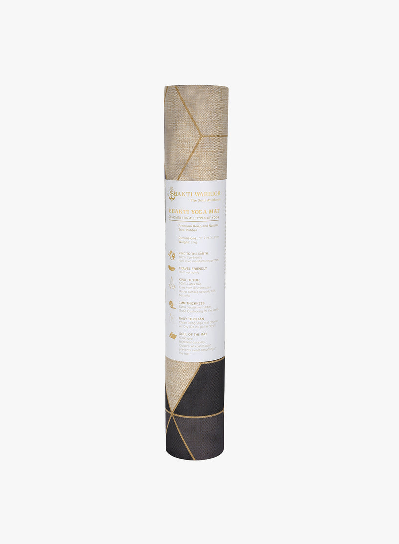 Aura Hemp Yoga Mat