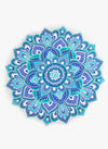 Spiritual Warrior round towels are both fun and high quality. This lotus mandala towel is the best summer accessory for the beach, picnic and as a throw.