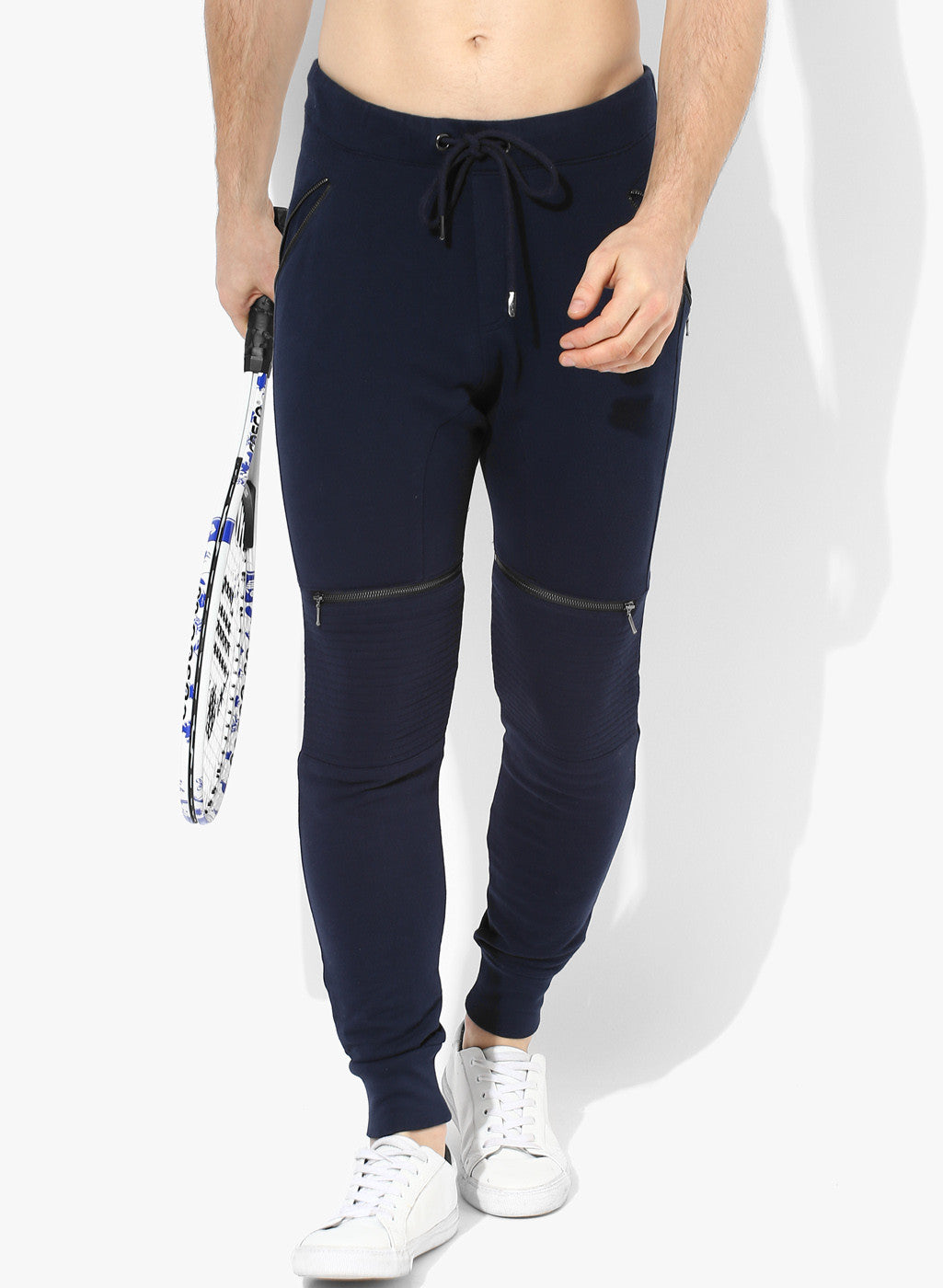 Spiritual Warrior navy joggers for men are both comfortable & high quality. They keep you cool and dry. These navy sweatpants are great for yoga, gym, relaxing