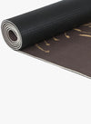 Spiritual Warrior's eco-friendly yoga mats have great grip, anti-slip, good cushioning for the knees, high quality, portable, affordable with feather print