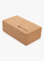 Cork yoga block accessory