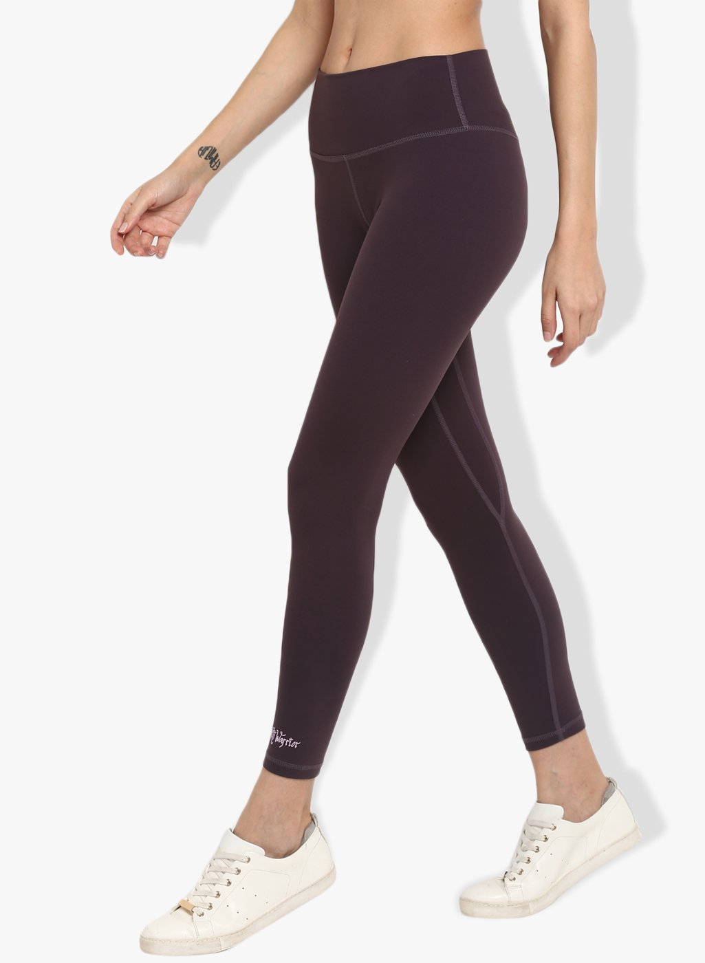 Shakti  Warrior Ishaani Workout Leggings Purple