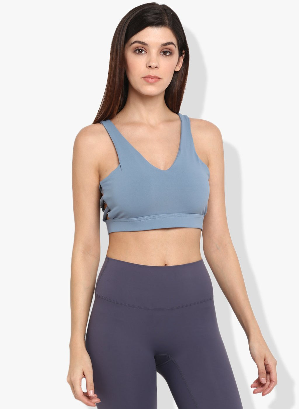 Shakti  Warrior Asteya Sports Bra Blue