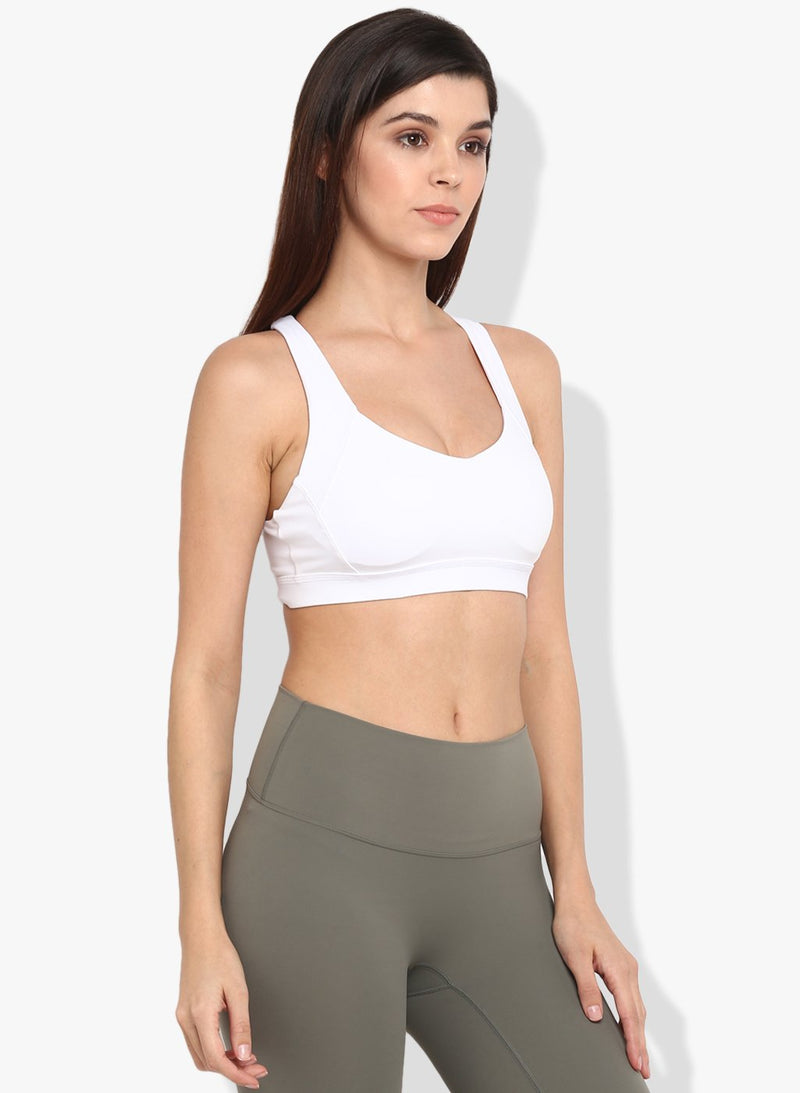 Shakti  Warrior Vidha Sports Bra White