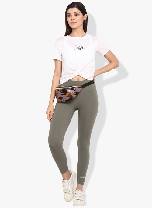 Shakti  Warrior Anya Crop T-shirt - You had me at Namaste