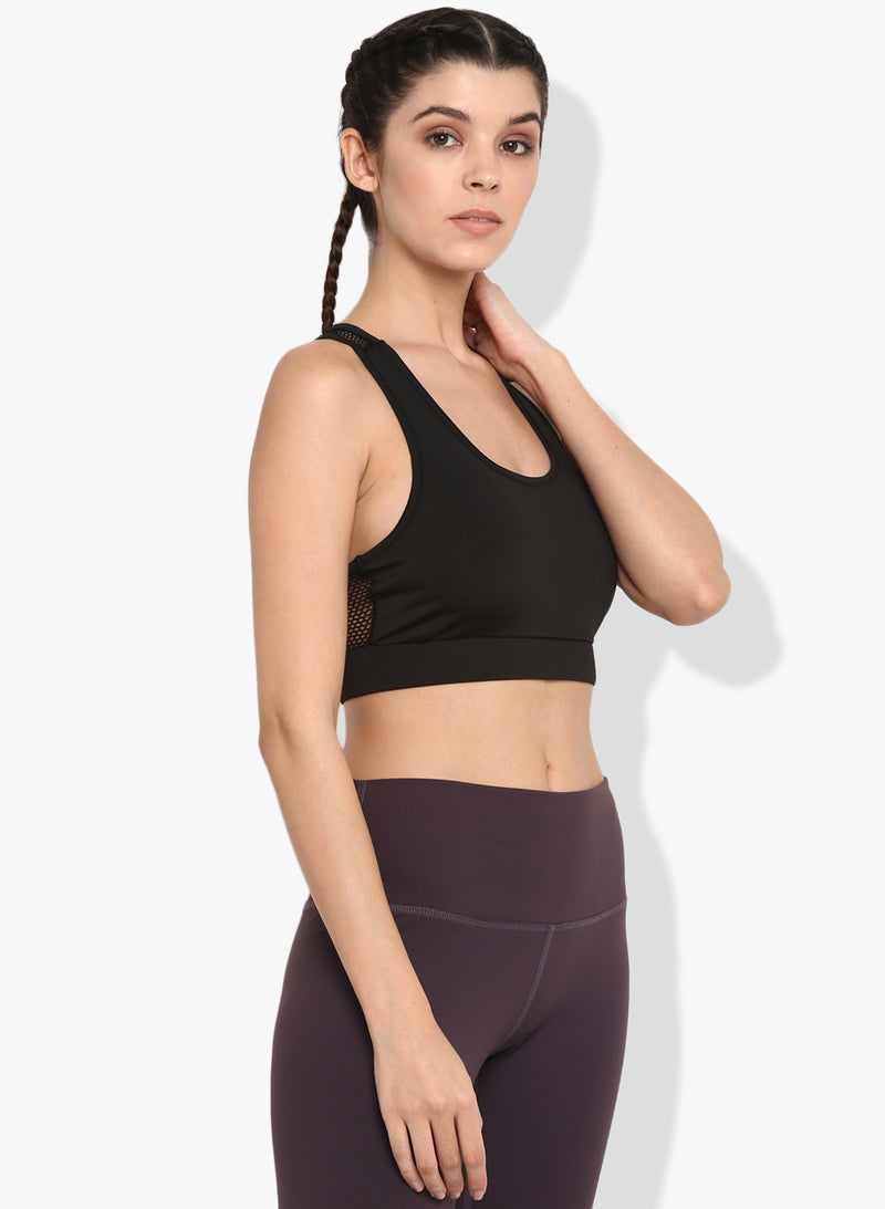 Shakti  Warrior Jiva Sports Bra Black