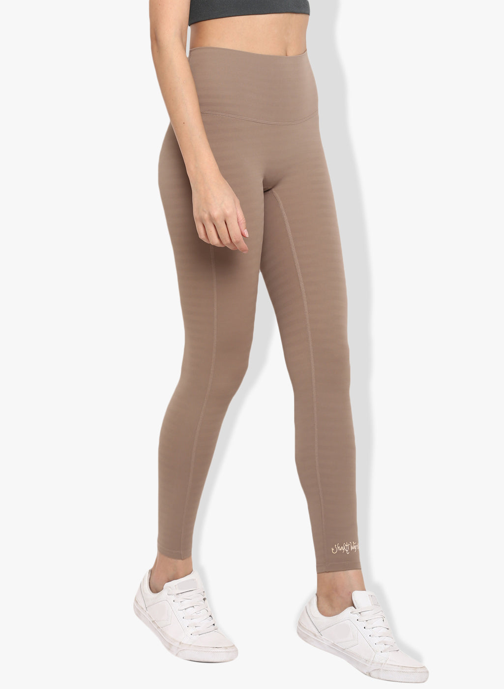 Shakti  Warrior Anjali Workout Leggings Brown