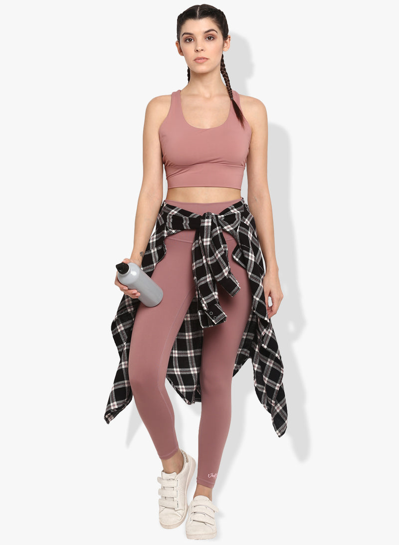 Shakti  Warrior Akhila Workout Leggings Blush