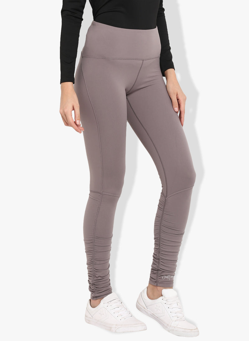 Spiritual Warrior Workout Yoga pants grey leggings